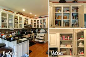 jan was looking to reduce her kitchen clutter and maximize space utilization in her refrigerator pantry and cabinets while eliminating excess cost from