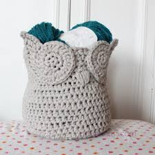 Free Crochet Basket Patterns Classy Owl Zpagetti Yarn Basket MissNeriss