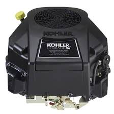 kohler 26hp courage vertical twin cylinder engine sv735 3022 hop kohler sv735 front view of small engine for lawn mower