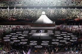 جريدة الرياض | إمبراطور اليابان يفتتح رسميا أولمبياد طوكيو بعد عام من  الانتظار