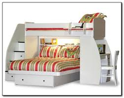 twin over full bunk bed with stairs. Brilliant Bunk Bed With Stairs And Desk Twin Over Full Beds Home C