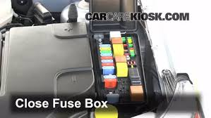 replace a fuse 2008 2011 saab 9 3 2010 saab 9 3 2 0t 2 0l 4 cyl 6 replace cover secure the cover and test component
