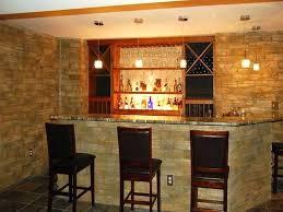 home bar decorations beautiful turn your basement into a bar