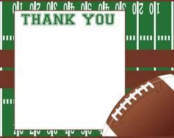 Football Thank You Notes Under Fontanacountryinn Com
