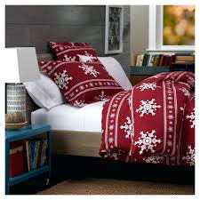 duvet cover flannel king red plaid simple covers flannelette black and white cov