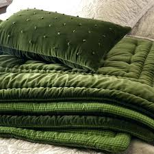velvet comforter gorgeous green and cushion set queen emerald cushi