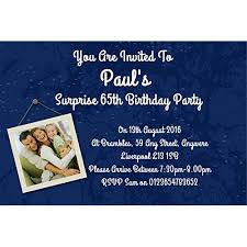 surprise birthday party invite surprise party invitations amazon co uk