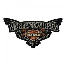 harley davidson b s pinstriping wings patch harley davidson patches