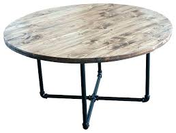 coffee table with pipe legs industrial for wood