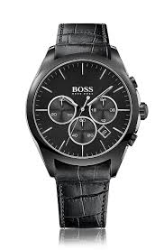 men s designer watches leather chronograph watches hugo boss® 1513367