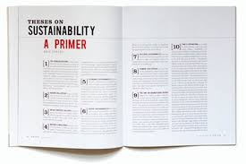 orion magazine theses on sustainability theses on sustainability