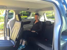 2017 chrysler pacifica third row seat with a 4 11 passenger