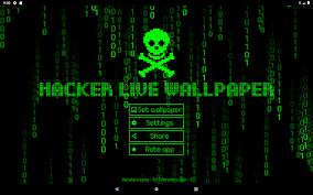 Hacker Live Wallpaper Matrix ☠ by ...