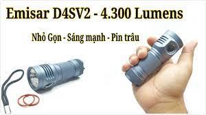 Đèn pin Emisar D4SV2 (Nhỏ gọn - Hiệu Năng Cao) - YouTube