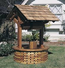 wishing well kits garden well pump house covers well pump house plans