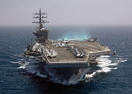 Hasil gambar untuk gambar kapal perang induk usa