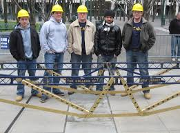 Tcnj Civil Engineering Students Carry The Load At The 2009 Regional