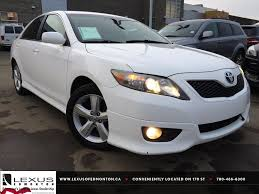 Used White 2011 Toyota Camry I4 Auto SE Review | Morinville ...