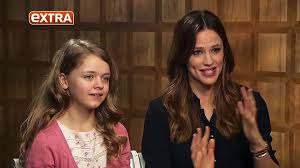 Jennifer Garner joined by co-star Kylie Rogers to talk new film - video  Dailymotion