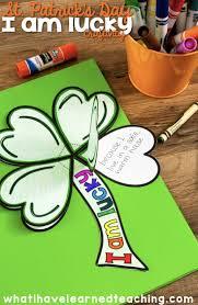 I Am Lucky St Patricks Day Craftivity
