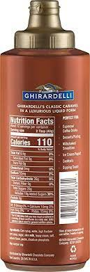 While this coffee syrup recipe isn't the same as caramel sauce, it does provide a similar flavor to caramel sauce when added to beverages. Amazon Com Ghirardelli Caramel Flavored Sauce 17 Oz Bottle Grocery Gourmet Food