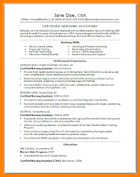 Cna Resume Template Free Magnificent 40 Cna Resume Templates Free Ecil 40