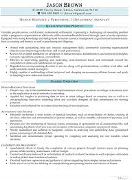 Human Resources Resume Examples Professional Writers Free Creative ...