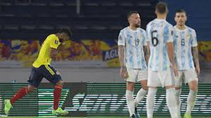 Colombia vs. Argentina - Football Match Report - June 8, 2021 - MobSports