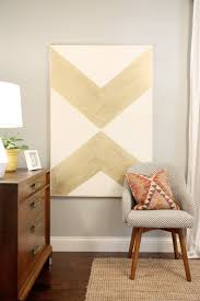 canvas art 2 on chevron canvas wall art diy with house tweaking