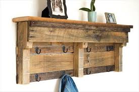 Coat Rack Shelf Diy Wood Pallet Coat Rack with Shelf 72