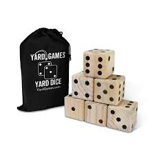 Wooden Yard Games Yard Games Giant Wooden Yard Dice Walmart 48