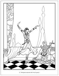 Small Picture The Arabian Nights Coloring Book