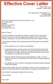Sample Of A Good Cover Letter For Resume