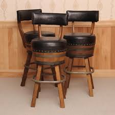 architecture whiskey barrel bar stools contemporary stool wine unique stave with 5 from whiskey barrel