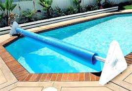 diy pool cover reel pool cover roller solar cover for pool deluxe portable solar pool cover