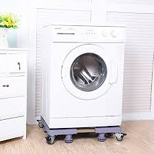 washing machine pedestal. Interesting Machine LZSNAIL Movable Machine Base Adjustable Washing Pedestal Fridge  Rack With Roller On R