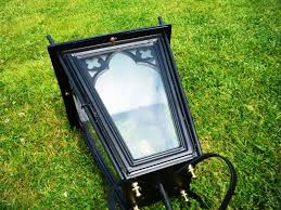 gothic lantern lighting. Image 3 - Antique Black Gothic Lantern And Cast Iron Lamp Post Lighting