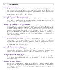 Thermodynamic Processes Chart Xe E Thermodynamics Section 1 Basic Concepts Section 2 First