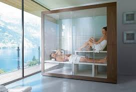 It does not hurt to dream, though most of us might have trouble finding  room for such a luxurious bathroom setup.