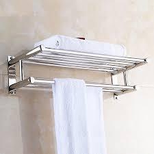 dilwe stainless steel bath towel rack