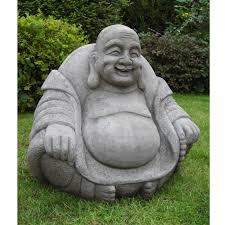 garden buddha statues. Giant Happy Buddha Statue Garden Statues