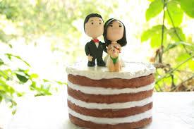 Chibi Wedding Cake Topper Anime Couple Bride And Groom Etsy
