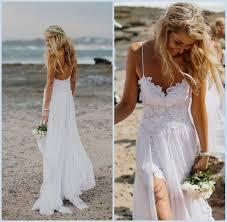 Beach Wedding Dress Low Back Naf Dresses