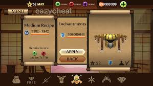 shadow fight 2 v1 9 18 cheat unlimited gold coins money gems