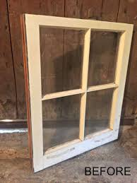 Old Window Remodelaholic Bathroom Storage Cabinet Using An Old Window