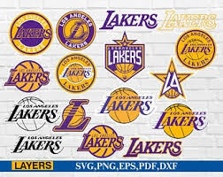 The trophy presentation for the 2020 western conference champion los angeles lakers! Lakers Svg Etsy