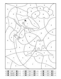 These dinosaur hidden pictures range from beginner super easy worksheets to slightly more difficult for older children. Dinosaur Color By Number Printables