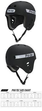 Pro Tec Helmet Size Chart Protective Gear 36317 Triple Eight Helmet With Sweat Saver