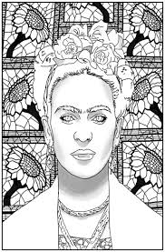 • take a look at these frida kahlo paper dolls on amazon. Women Of Color Student S Coloring Book Educates Inspires And Sells Uva Today
