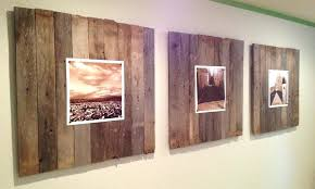 barn wood wall decor reclaimed art panels our wee home diy